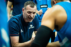 Rado Trifunovic head coach of Slovenia during basketball match between National teams of Slovenia and Austria in 2nd Round of the 2021 EuroBasket Qualifiers, on February 23, 2020 in Arena Bonifika, Koper / Capodistria, Slovenia. Photo By Grega Valancic / Sportida