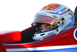February 9, 2018 - Avondale, Arizona, United States of America - February 08, 2018 - Avondale, Arizona, USA: Matheus Leist (4) climbs into his car and prepared to take to the track for the Prix View at ISM Raceway in Avondale, Arizona. (Credit Image: © Justin R. Noe Asp Inc/ASP via ZUMA Wire)