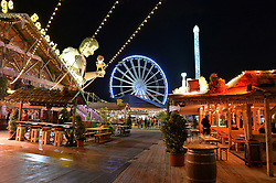 Atmosphere at the Hyde Park Winter Wonderland - VIP Preview Night, Hyde Park, London on 17th November 2016.