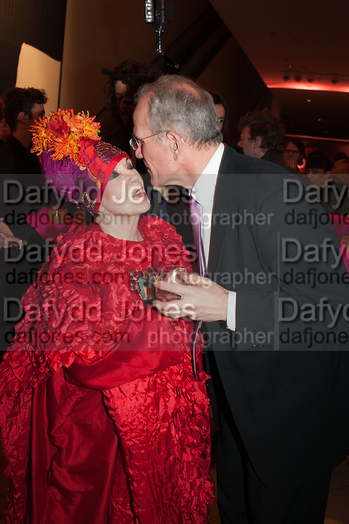 MOLLY PARKIN; SANDY NAIRNE, Opening of Bailey's Stardust - Exhibition - National Portrait Gallery London. 3 February 2014