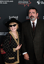 Edinburgh International Film Festival 2019<br /> <br /> Robert The Bruce (World Premiere)<br /> <br /> Pictured: Lulu and Angus Macfadyen<br /> <br /> Alex Todd | Edinburgh Elite media