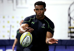 Christian Scotland-Williamson of Worcester Warriors passes a ball during pre-season training - Mandatory by-line: Robbie Stephenson/JMP - 07/06/2016 - RUGBY - Worcester Warriors - Pre-season training session