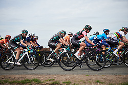 Lizzy Banks (GBR) in the bunch at Boels Ladies Tour 2019 - Stage 3, a 156.8 km road race starting and finishing in Nijverdal, Netherlands on September 6, 2019. Photo by Sean Robinson/velofocus.com