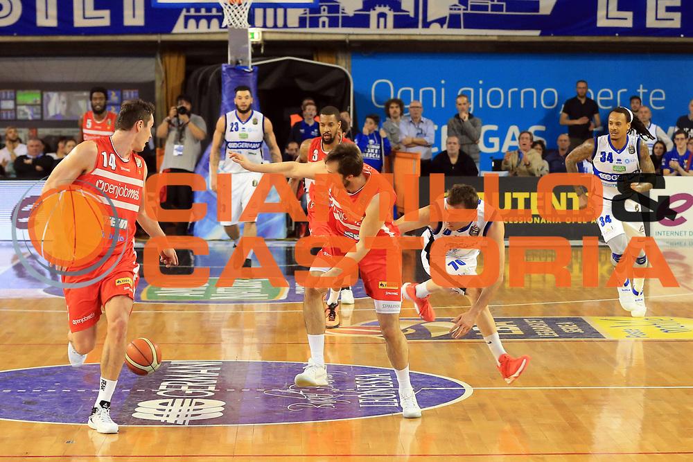 Cavaliero Daniele<br /> Germani Basket Brescia vs Openjobmetis Varese<br /> Lega Basket Serie A 2016/2017<br /> Citt&agrave; 19/03/2017<br /> Foto Ciamillo-Castoria/A.Gilardi