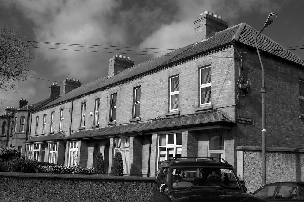 Clonliffe Road, site of many haunting stories. One of these houses was haunted, and was the site of a priest's blessing in the 1960s. .