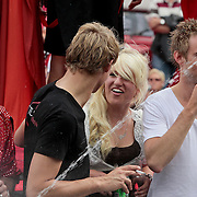 NLD/Amsterdam/20110806 - Canalpride Gaypride 2011, Britt Dekker
