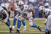 September 11, 2016: Detroit Lions tackle Taylor Decker (68) during the week 1 NFL game between the Detroit Lions and Indianapolis Colts at Lucas Oil Stadium in Indianapolis, IN.  (Photo by Zach Bolinger/Icon Sportswire)