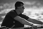 Putney, London,  Tideway Week, Championship Course. River Thames,  Oxford UBC. 6: Michael DiSanto  Tuesday  28/03/2017<br /> [Mandatory Credit; Credit: Peter Spurrier/Intersport Images.com] Tuesday  28/03/2017<br /> [Mandatory Credit; Credit: Peter Spurrier/Intersport Images.com]