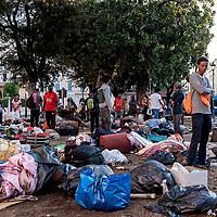 Il palazzo dei rifugiati eritrei nel cuore di Roma