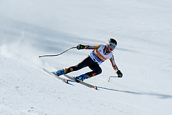 MARCOUX Mac Guide MARCOUX Bj, CAN, Downhill, 2013 IPC Alpine Skiing World Championships, La Molina, Spain