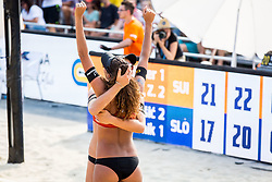 FIVB  Beach Volleyball World Tour Ljubljana 2018, on August 5, 2018 in Kongresni trg, Ljubljana, Slovenia. Photo by Ziga Zupan / SportidaFIVB  Beach Volleyball World Tour Ljubljana 2018, on August 5, 2018 in Kongresni trg, Ljubljana, Slovenia. Photo by Ziga Zupan / Sportida