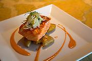 King Salmon on Potato, Sitka, Alaska