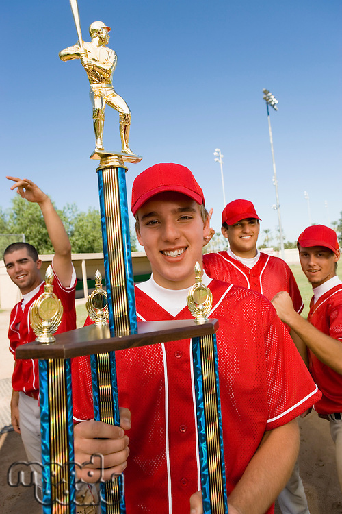 Victorious Baseball Team