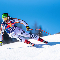 Andreas Sander of Germany at the Ski Alpin: 80. Hahnenkamm Race 2020 - Audi FIS Alpine Ski World Cup - Men's Downhill Training at the Streif on January 22, 2020 in Kitzbuehel, AUSTRIA. (Photo by Horst Ettensberger/ESPA/CSM/Sipa USA) - Kitzbuhel (Autriche)