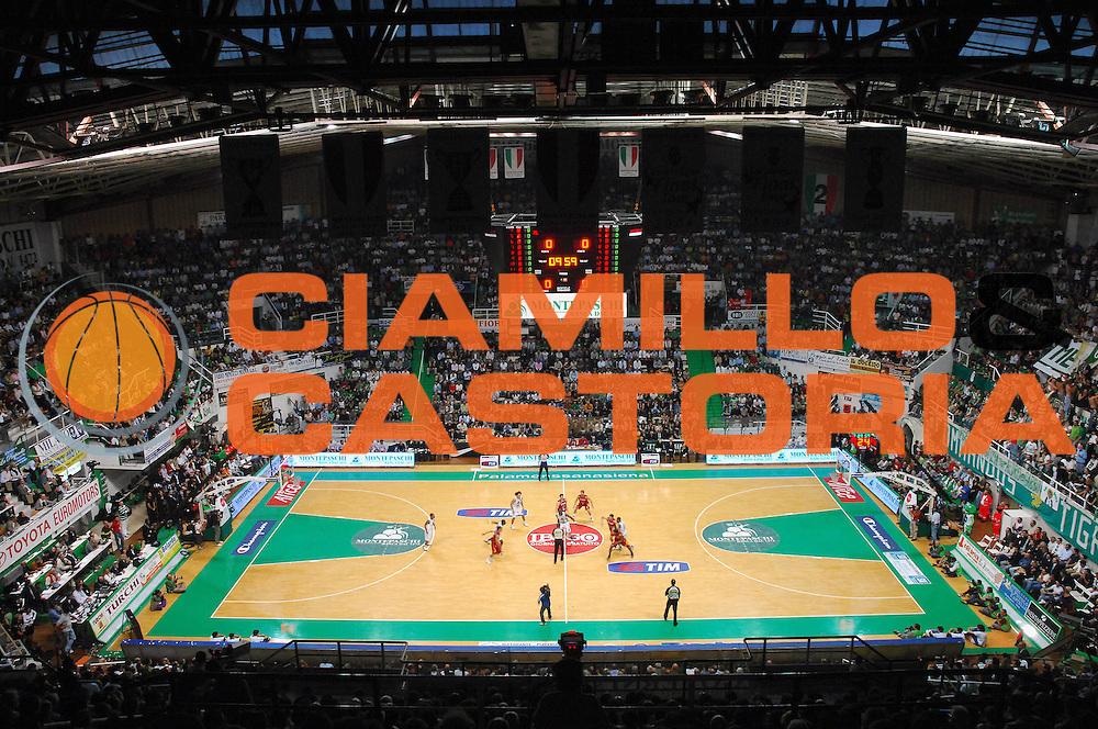 DESCRIZIONE : Siena Lega A1 2007-08 Playoff Finale Gara 5 Lottomatica Virtus Roma Montepaschi Siena<br /> GIOCATORE : PalaMensSana<br /> SQUADRA : Montepaschi Siena <br /> EVENTO : Campionato Lega A1 2007-2008 <br /> GARA : Lottomatica Virtus Roma Montepaschi Siena <br /> DATA : 12/06/2008 <br /> CATEGORIA :<br /> SPORT : Pallacanestro <br /> AUTORE : Agenzia Ciamillo-Castoria/G. Vannicelli