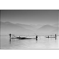 fisherman on Inle Lake Myanmar