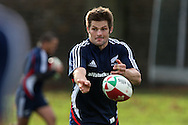 Richie McCaw, the Allblacks captain. . The New Zealand rugby team training at  Sophia Gardens in Cardiff ahead of the Match against Wales..pic by Andrew Orchard, Andrew Orchard sports photography.
