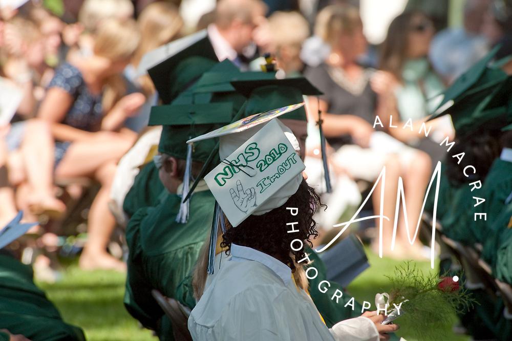 New Hampton School graduation.  (Alan MacRae/for the Citizen)