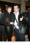 Lady Black and Nicky Haslam. From Tara to Tom Wolfe Tatler re-launch party. Che. 10 October 1999 © Copyright Photograph by Dafydd Jones 66 Stockwell Park Rd. London SW9 0DA Tel 020 7733 0108 www.dafjones.com