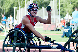 MCFADDEN Tatyana, USA, 400m, T54, 2013 IPC Athletics World Championships, Lyon, France