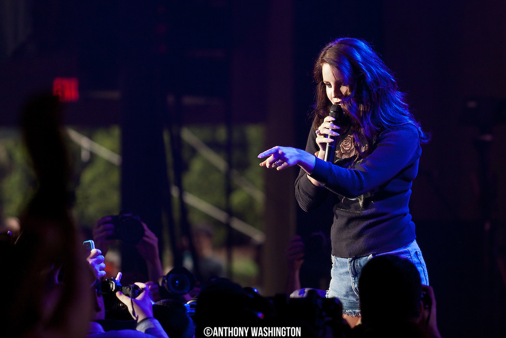 Lana Del Ray performs during the Sweetlife Festival at Merriweather Post Pavilion in Columbia, MD on Saturday, May 10, 2014.