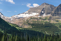 Kintla Glacier,  Glacier National Park Montana