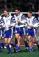 06.06.1997, Eerikkil?, Finland..Kari Rissanen, Jari Litmanen & Mika Nurmela (Finland) in training.©JUHA TAMMINEN