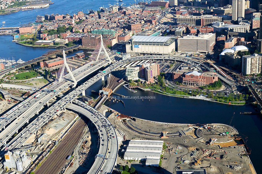 Boston - Zakim Bridge - Fleet Center