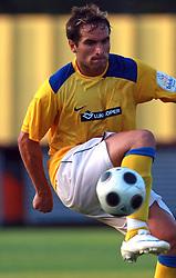 Juan Vitagliano (15) of Koper at 7th Round of PrvaLiga Telekom Slovenije between FC Koper vs NK Domzale, on August, 2008, in SRC Bonifika, in Koper, Slovenia. (Photo by Vid Ponikvar / Sportal Images)