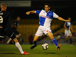 Bristol Rovers' Andy Bond looks to intercept the ball - Photo mandatory by-line: Seb Daly/JMP - Tel: Mobile: 07966 386802 27/09/2013 - SPORT - FOOTBALL - Roots Hall - Southend - Southend United V Bristol Rovers - Sky Bet League Two