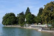 Strandbad Bad Schachen, Lindau, Bodensee, Bayern, Deutschland