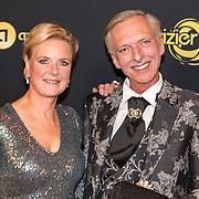 NLD/Amsterdam/20191009 - Uitreiking Gouden Televizier Ring Gala 2019, Martien Meiland en Erica Meiland