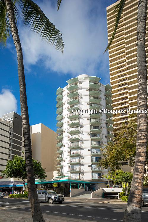Circle Hotel, Waikiki, Oahu, Hawaii