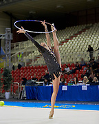 Nicol Ruprecht from Terranuova team during the Italian Rhythmic Gymnastics Championship in Padova, 25 November 2017.