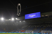 Spydercam ready for the Premier League match between Leicester City and Liverpool at the King Power Stadium, Leicester, England on 26 December 2019.