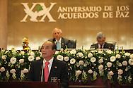El señor presidente del yuan legislativo de la Republica de China Taiwan,  Wang Jin Ping  ofrece un discurso Viernes AGT 24, 2012 en la asamblea legislativa San Salvador, El Salvador durante una reunion de presidentes y vipresidentes de poderes legislativo de centro america y la cuenca del caribe. Foto: Franklin Rivera/fmln/Imagenes Libres.