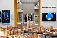 Venezia - 16. Mostra di Architettura. Padiglioni ai Giardini.  Palazzo delle Esposizioni.  East Side Coastal Resiliency di Bjarke Ingels