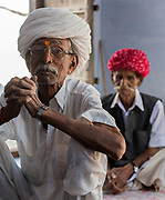 Old men from Rajasthan.