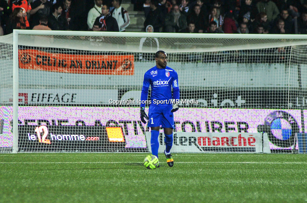 Vincent Enyeama  - 17.01.2015 - Lorient / Lille - 21eme journee de Ligue 1 <br /> Photo : Phillipe Le Brech / Icon Sport