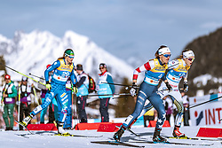 21.02.2019, Langlauf Arena, Seefeld, AUT, FIS Weltmeisterschaften Ski Nordisch, Seefeld 2019, Langlauf, Damen, Sprint, im Bild Sophie Caldwell (USA) // Sophie Caldwell of the USA during the ladie's Sprint competition of the FIS Nordic Ski World Championships 2019. Langlauf Arena in Seefeld, Austria on 2019/02/21. EXPA Pictures © 2019, PhotoCredit: EXPA/ Dominik Angerer