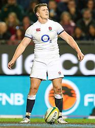 Owen Farrell (captain) of England- Mandatory by-line: Steve Haag/JMP - 23/06/2018 - RUGBY - DHL Newlands Stadium - Cape Town, South Africa - South Africa v England 3rd Test Match, South Africa Tour
