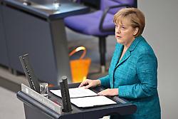 26.05.2011, Bundestag, Berlin, GER, Regierungserklärung zum G8-Gipfel, im Bild  Angela Merkel ( Bundeskanzlerin CDU )   EXPA Pictures © 2011, PhotoCredit: EXPA/ nph/  Hammes       ****** out of GER / SWE / CRO  / BEL ******