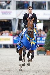 Houwen Kristian (NED) - Cidane<br /> FEI World Breeding Jumping Championship - Lanaken 2013<br /> © Dirk Caremans