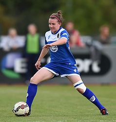 Frankie Brown of Bristol Academy Women - Mandatory by-line: Paul Knight/JMP - Mobile: 07966 386802 - 29/08/2015 -  FOOTBALL - Stoke Gifford Stadium - Bristol, England -  Bristol Academy Women v Birmingham City Ladies FC - FA WSL Continental Tyres Cup