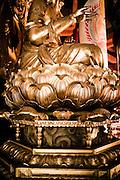 Buddha at Konpon Daito pagoda.