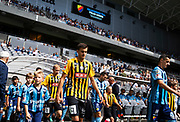 STOCKHOLM, SWEDEN - JULY 22: Alexander Jeremejeff of BK Hacken enters the pitch ahead of the Allsvenskan match between Djurgardens IF and BK Hacken at Tele2 Arena on July 22, 2018 in Stockholm, Sweden. Photo by Nils Petter Nilsson/Ombrello ***BETALBILD***