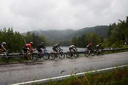 The leaders during Ladies Tour of Norway 2019 - Stage 1, a 128 km road race from Åsgårdstrand to Horten, Norway on August 22, 2019. Photo by Sean Robinson/velofocus.com