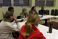 The Hyde Park 4th of July Parade Committee held its first planning meeting Wednesday evening, March 29th, 2017 at the Hyde Park Neighborhood Club located at 5480 S. Kenwood Ave.<br /> <br /> 1747 &ndash; Committee members listen as Executive Director for the Hyde Park Chamber of Commerce, Wallace Goode makes a proposal during the meeting.<br /> <br /> Please 'Like' &quot;Spencer Bibbs Photography&quot; on Facebook.<br /> <br /> All rights to this photo are owned by Spencer Bibbs of Spencer Bibbs Photography and may only be used in any way shape or form, whole or in part with written permission by the owner of the photo, Spencer Bibbs.<br /> <br /> For all of your photography needs, please contact Spencer Bibbs at 773-895-4744. I can also be reached in the following ways:<br /> <br /> Website &ndash; www.spbdigitalconcepts.photoshelter.com<br /> <br /> Text - Text &ldquo;Spencer Bibbs&rdquo; to 72727<br /> <br /> Email &ndash; spencerbibbsphotography@yahoo.com