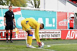 Tareiq Holmes-Dennis of Bristol Rovers prepares to take a corner - Mandatory by-line: Matt McNulty/JMP - 27/04/2019 - FOOTBALL - Highbury Stadium - Fleetwood, England - Fleetwood Town v Bristol Rovers - Sky Bet League One