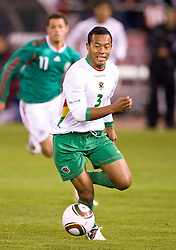 February 24, 2010; San Francisco, CA, USA;  Bolivia defender Edemir Rodriguez (3) during the first half against Mexico at Candlestick Park. Mexico defeated Bolivia 5-0.